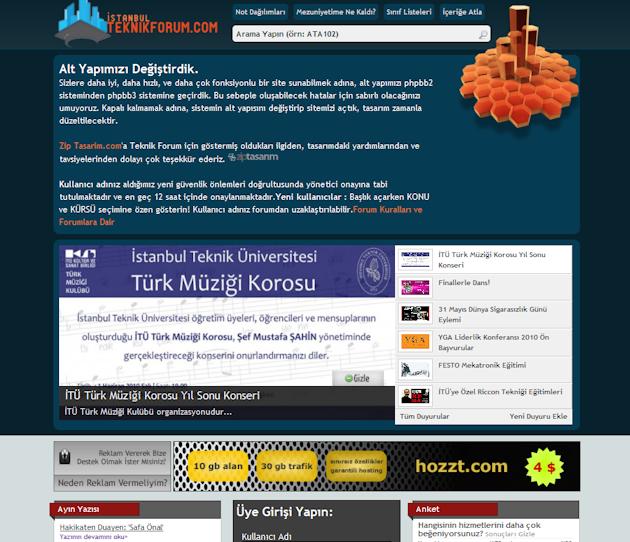 Teknikforum İTÜ Öğrenci Ve Öğretim Üyesi Forum Sitesi