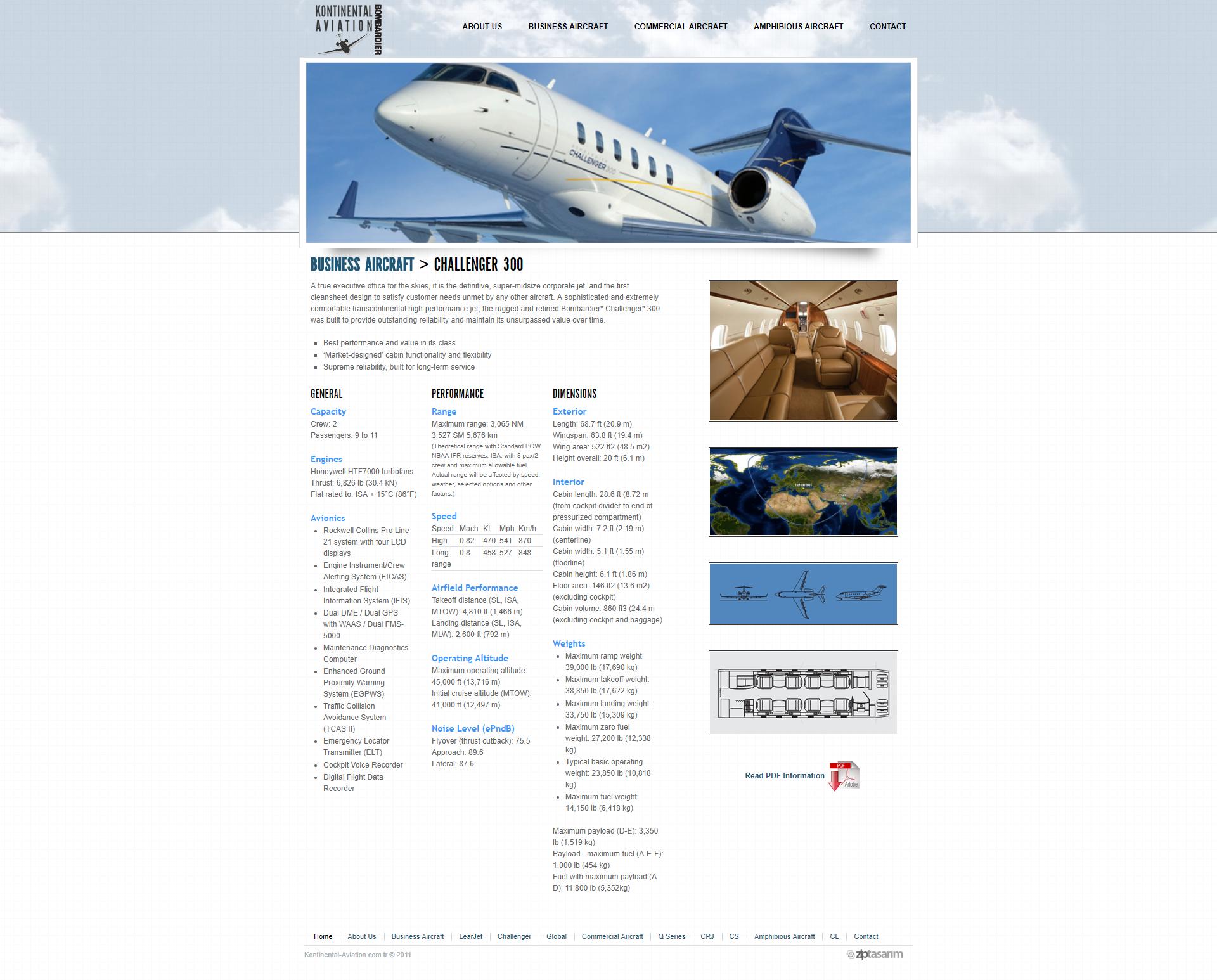 Kontinental Aviation Webtasarim 04