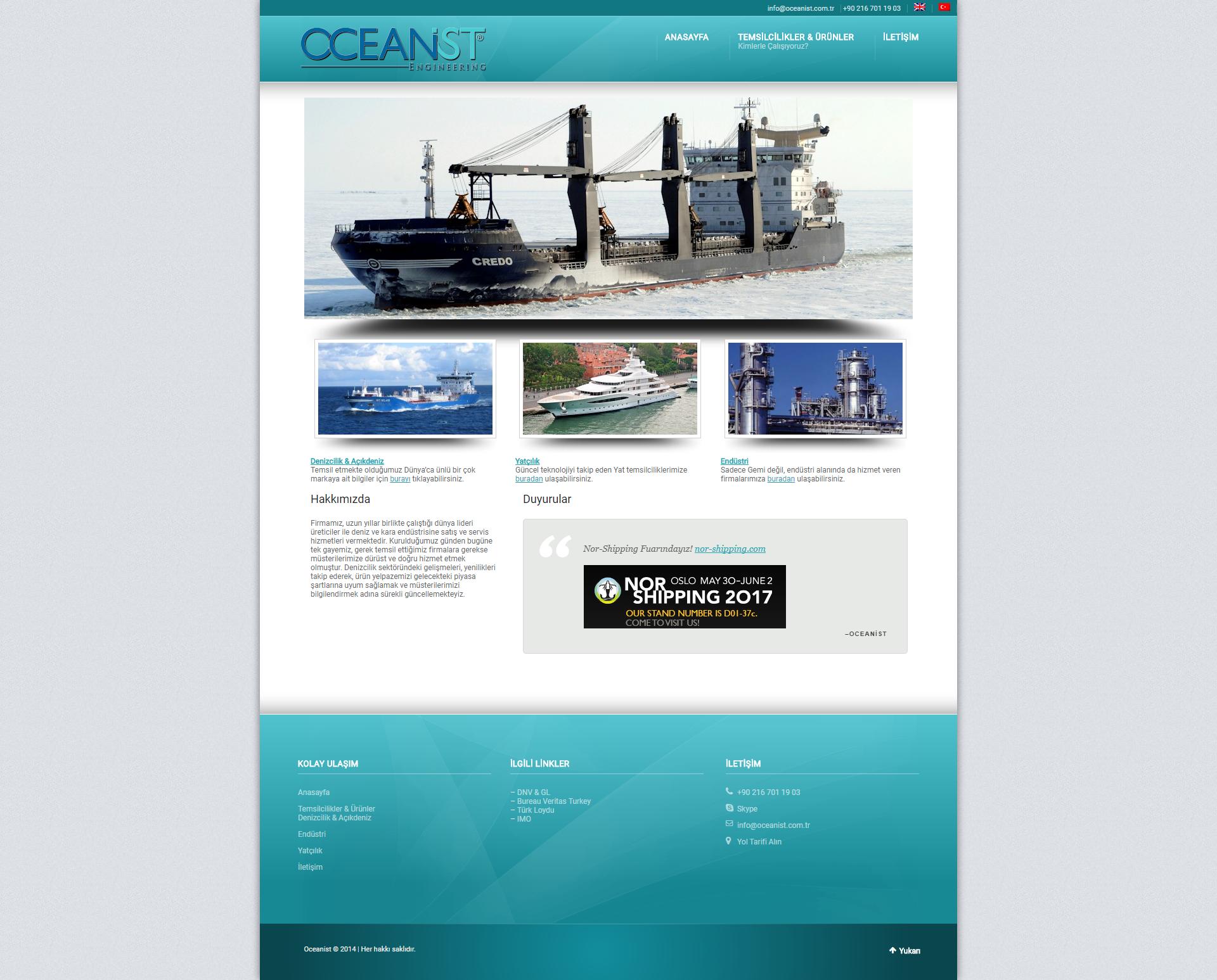 Oceanist Webtasarim 01